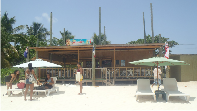 Hank and Mac's Restaurant, Anguilla Picture