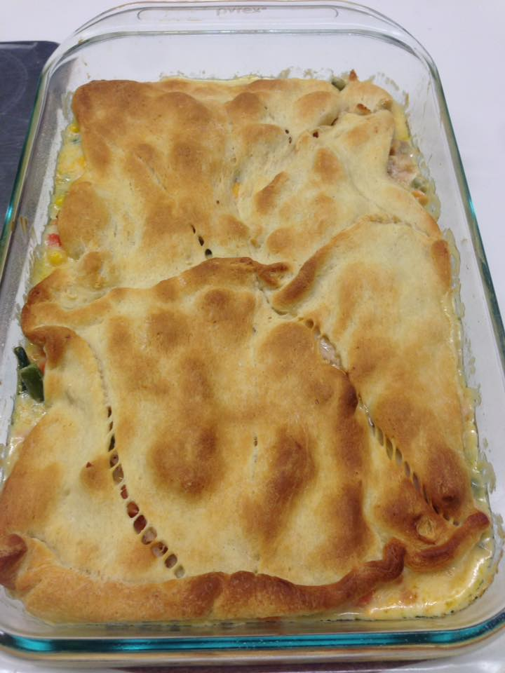 Cooked Easy Chicken Pot Pie