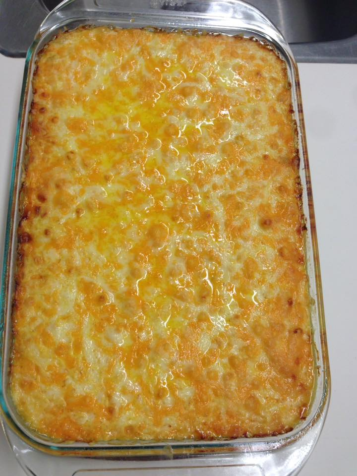 Completed Macaroni Pie